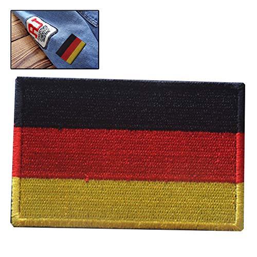 Zonfer Bandera De Alemania Parches Bordados Pin Brazalete Tácticas Militares Rayada De La Bandera Nacional Bandera Deutschland Vendaje