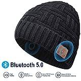 EVERSEE Bonnet Bluetooth Cadeau de Noël - Unisexe Music Bonnet Bluetooth Cadeaux...