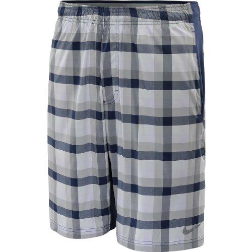 NIKE Tennisshorts 10 Zoll Plaid Woven - Pantalones Cortos de...