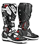 Sidi Crossfire 2 SRS MX Boots 11.5 D(M) US Black Flou Yellow