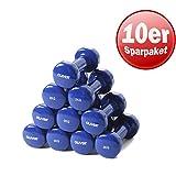 Oliver Vinyl Kurzhanteln Hantel 0,5 kg bis 5,0 kg Set Krafttraining Muskel Training Kurs Fitness...