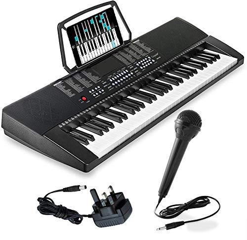 61 Keys Teaching Type Electronic Keyboard Digital Music Instrument Piano &...