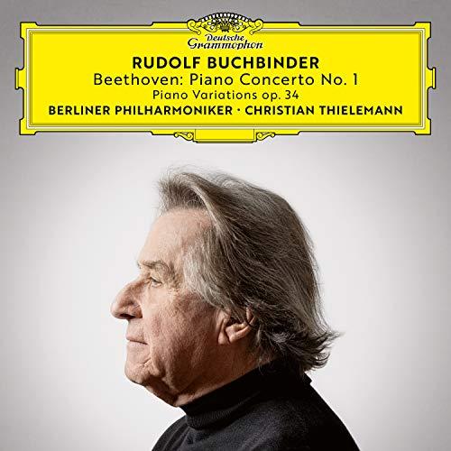 ベートーヴェン: ピアノ協奏曲第1番、他(限定盤)(UHQCD/MQA) - ルドルフ・ブッフビンダー