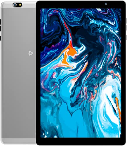 VUCATIMES N20 タブレット10.1インチ Android 10 RAM3GB ROM64GB 8コアCPU 1920x1200 IPSディスプレイ 2.4GHz&5GHz Wi-Fiモデル Bluetooth 5.0 GPS FM 金属ボディ (グレー)