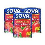 Goya Pasta de Tomate - Tomato Paste (3 Pack, Total of 84oz)