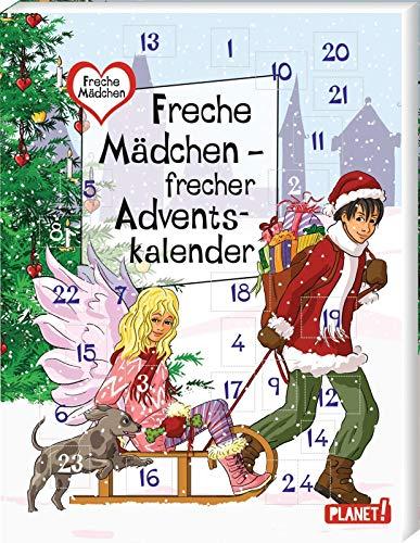 Freche Mädchen – freche Bücher!: Freche Mädchen – frecher Adventskalender: 24 Geschichten und Türchen zum Öffnen