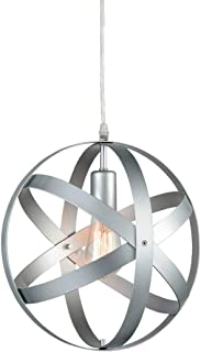 silver hanging light fixtures
