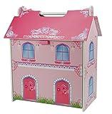 A. B. Gee tx1092pequeña casa de muñecas de Madera con Muebles