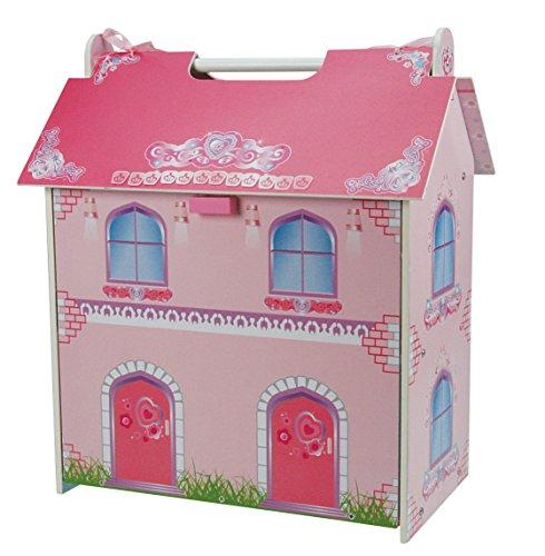 A B Gee tx1092klein Puppenhaus aus Holz mit Möbeln