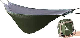 Outdoor Skye Hammock Underquilt Lightweight Sleeping Bag Quilt for Camping, Backpacking, Backyard - Packable Full Length Under Blanket Add Hollow Cotton (Renewed)