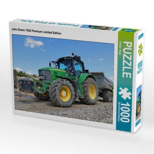 CALVENDO Puzzle John Deere 7430 Premium Limited Edition 1000 Teile Lege-Größe 64 x 48 cm Foto-Puzzle Bild von Günther Geiger