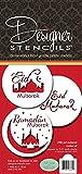 Eid Mubarak Cookie Stencil Set by Designer Stencils