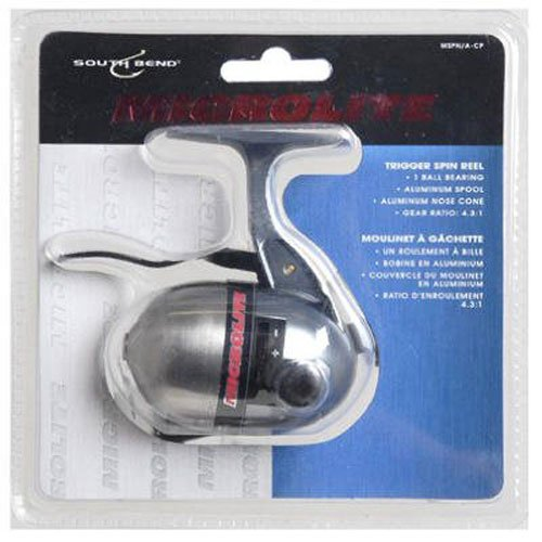 South Bend MLSP/A-CP MCR Lt Trigger Spin Reel-Clam