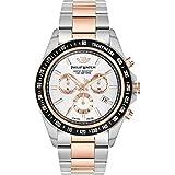 PHILIP WATCH Orologio Cronografo Quarzo Uomo con Cinturino in Acciaio Inox R8273607006