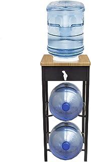 Despachador de Agua con Almacén para 2 Garrafones, color Chocolate