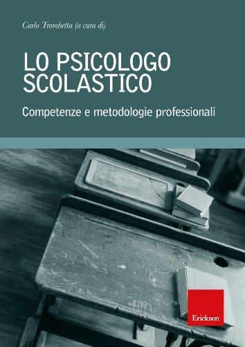 Lo psicologo scolastico