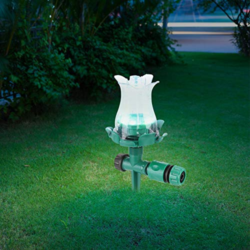 Water Sprinkler, Durable Garden Sprinkler, Easy to Install and Use for Lawn Watering Sprinkler Garden Watering Eco-Friendly