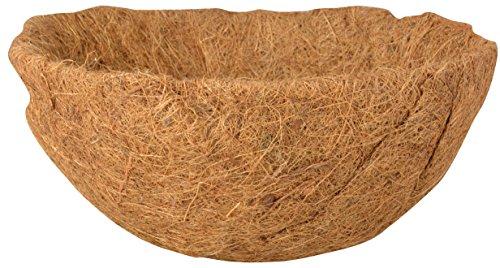 Esschert Design Ersatzeinlage Hanging Basket Ø 31 cm, Höhe 14 cm, Kokoseinlage, Hängekörbchen, Naturkorb