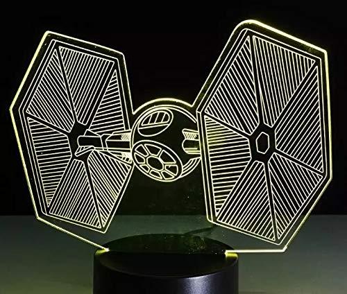 Luz nocturna LED 3D con tema de película para decoración de oficinas...
