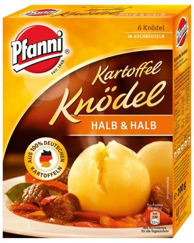 Pfanni Kartoffel Knödel Halb und Halb, 200g