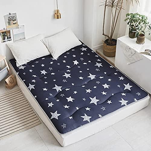 Colchones Colchón de piso plegable completo, tapete de tatami para dormir, cama japonesa enrollable, cama plegable colchón de colchón, colchón de dormitorio almohadillas para niños Textiles del hogar