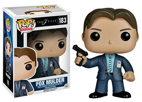 Funko Pop! TV: X-Files - Fox Mulder - Figuras de Juguete para ninos (Multi)