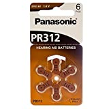 Panasonic Hearing Aid Batteries Size 312 (180 Batteries)