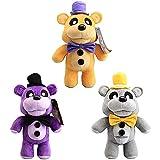Peluches Five Nights at Freddys - 20cm: Toy Freddy | Toy Bonnie | Springtrap | Rockstar Foxy | Nightmare Mangle | Freddy Fazbear Juguetes de Peluche muñeca Regalo para niños