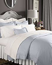 Celeste Linens by SFERRA, Queen Fitted Sheet, White