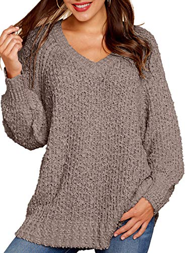 Fuzzy Sweater for Women's Pullover