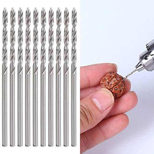 Twist Drill Bit Set, Professional 10Pcs Twist Drill Bit Pearl Drilling Machine Tools for Industrial Supplies