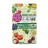 ISDGユーグレナ 酵素 植物性 乳酸菌 ミルクオリゴ糖 120粒 (30日分)
