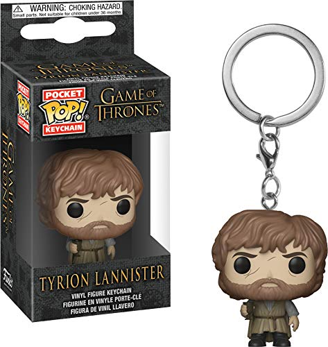 Funko 34911 - Llavero de Bolsillo, diseño de Game of Thrones: Tyrion Lannister, Multicolor