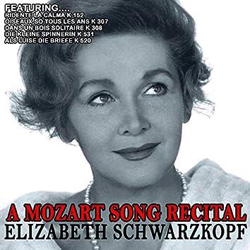 A Mozart Song Recital