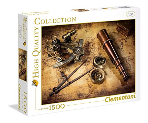 Clementoni- Course to The Treasure High Quality Collection Puzzle, 1500 Pezzi, 31808