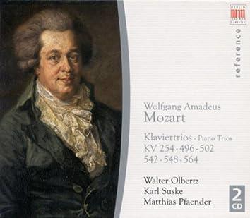 Wolfgang Amadeus Mozart: Piano Trios Nos. 1, 3, 4, 5, 6 / Divertimento in B-Flat Major, K. 254 (Suske, Pfaender, Olbertz)