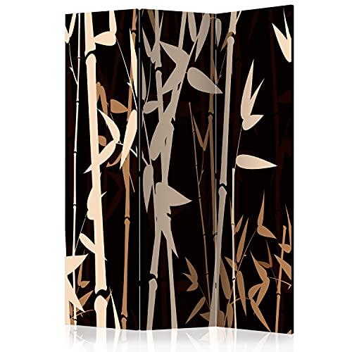 murando Raumteiler Foto Paravent Bambus...