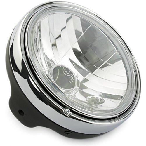 Motorize - Moto phare 20cm - montage latéral M8 - BULLET - Set 2
