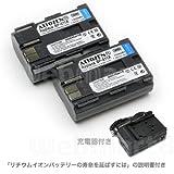 ウェブマートエイト キヤノン BP-511A 互換バッテリー2個セット充電器付きグレードAパーツ使用