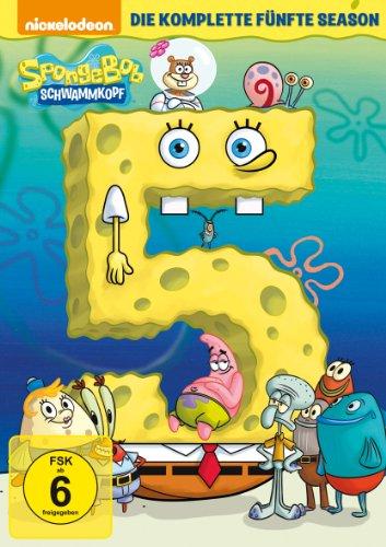 SpongeBob Schwammkopf - Die komplette fünfte Season [3 DVDs]
