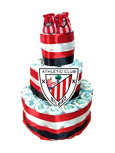 Tarta de pañales DODOT Athletic Club de Bilbao