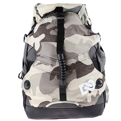 SM SunniMix Ice/Inline/Roller Skate Backpack - Large Skating Bags to Carry...