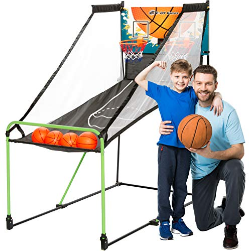 TGU Arcade Basketball Gifts - Kids Basketball Arcade Games for Boys Girls, Child & Grandchild, Age 3 4 5 6 7 8 9 10 Years Old | Birthday Christmas Party
