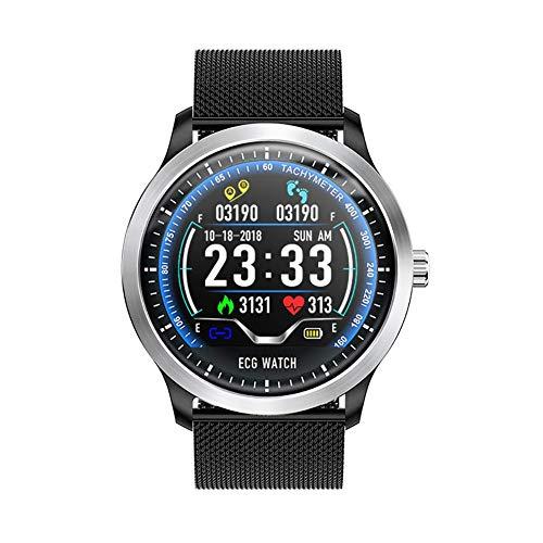 Nishci N58 Smart Watch - Fitness Tracker ECG Reloj Deportivo ECG + PPG ECG HRV Informe de presión Arterial Prueba IP67 Pulsera Inteligente