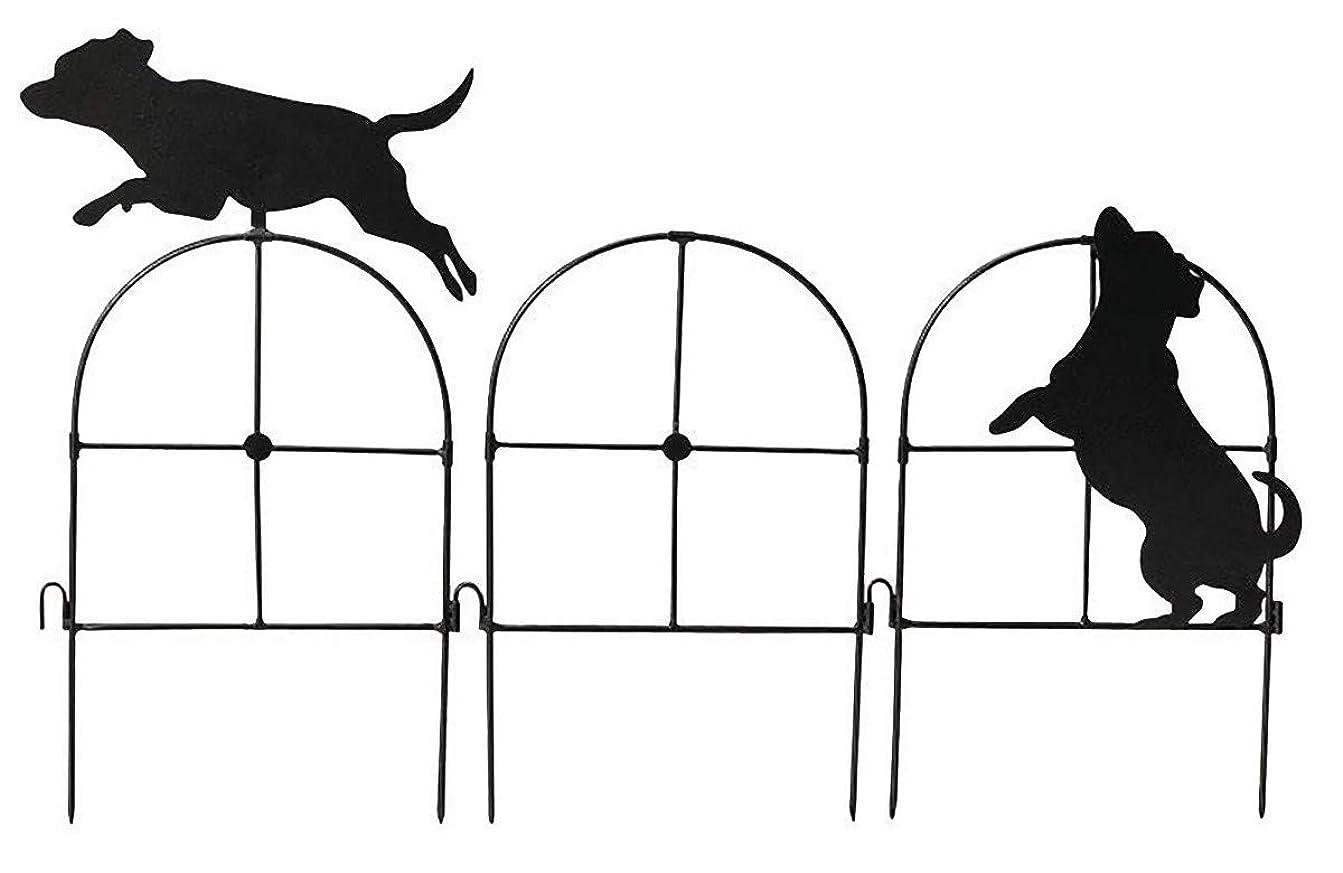 セトクラフト シルエットミニフェンス(Dog) SI-1962-400