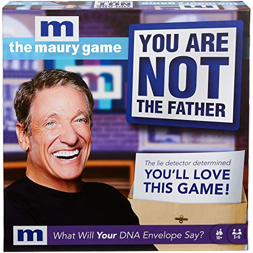 The Maury Game: You are Not The Father, Funny Adult Party Game with Game Board and Cards for 18 Year...