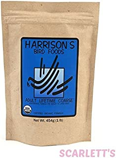 Harrison's Bird Foods Adult Lifetime Coarse 25lb