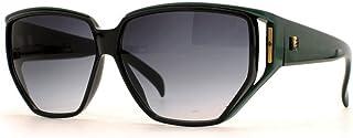 Guy Laroche - 5139 Gafas de sol certificadas cuadradas negras verdes de la vendimia para las mujeres