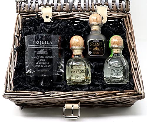 Personalised Patron Tequila Gift Hamper