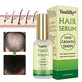 Haarwachstum Serum, Anti-Haarausfall, Haarausfall und Haar-Behandlung, Haar Serum, für Dünner Werdendes Haar, Verdickung und Nachwachen, für Schnelles Haarwachstum-100ml